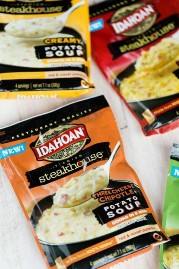 Idahoan Three Cheese Chipotle Potato Soup