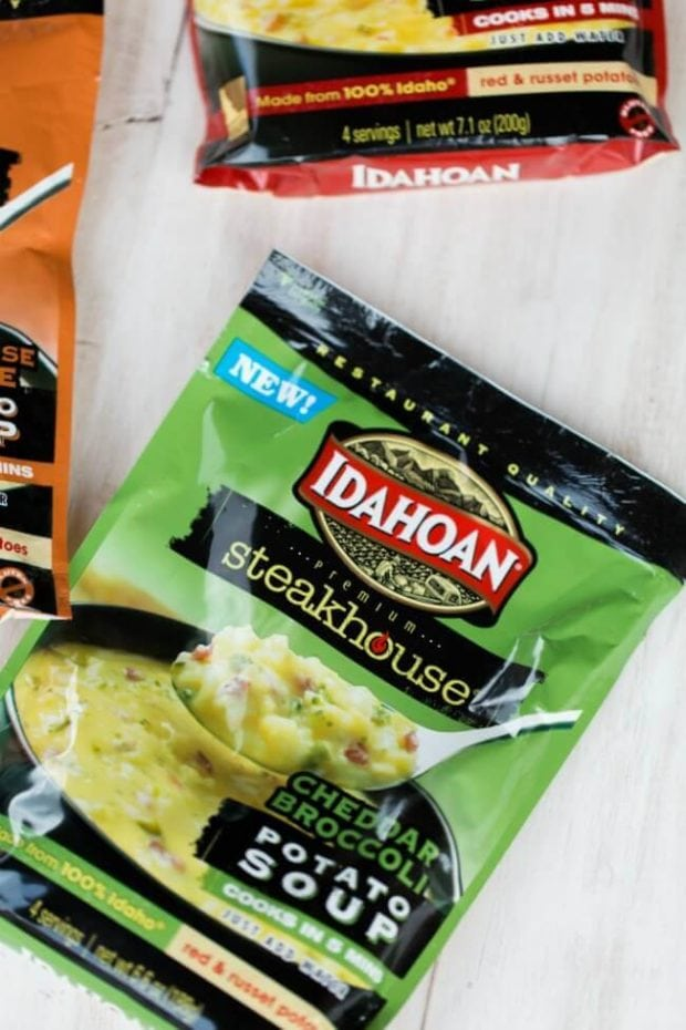 Idahoan Cheddar Broccoli Potato Soup