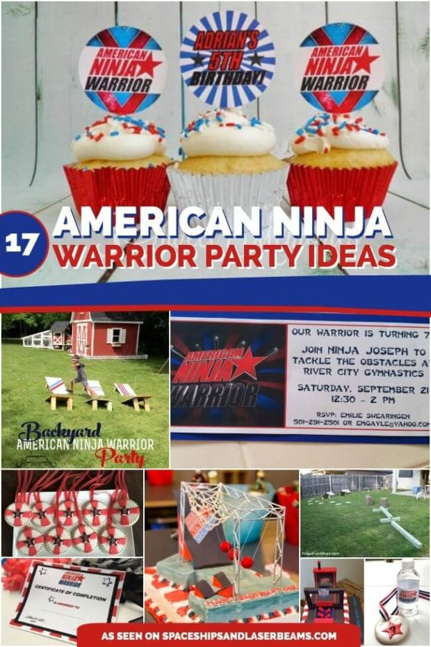 706052a36bc 17 American Ninja Warrior Party Ideas for Any Age - Spaceships and ...