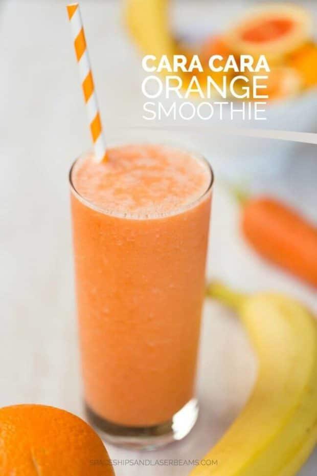 Cara Cara Orange Smoothie