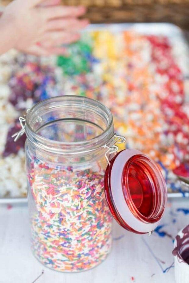 Rainbow Popcorn Recipe