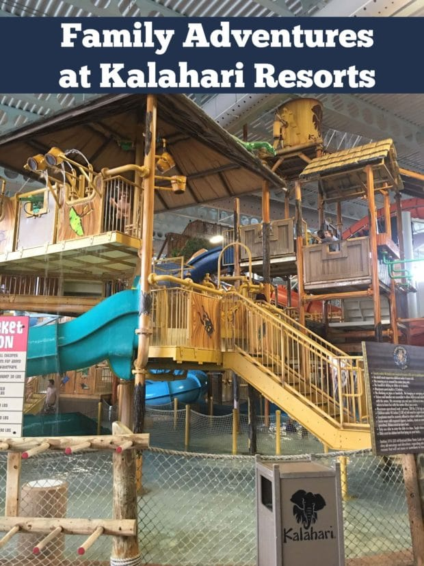 Family Adventures at Kalahari Resorts