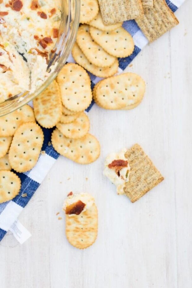 Dips and Cracker Recipe