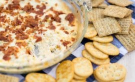 Bacon Cheddar Cream Cheese Dip
