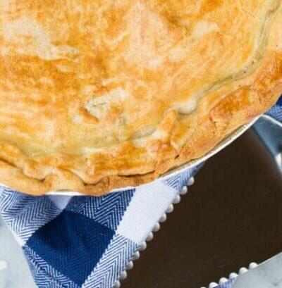 Freezer Ready Chicken Pot Pie Recipe