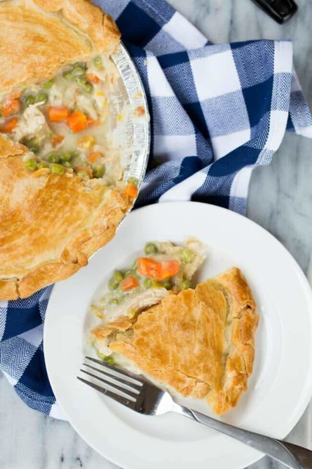 Freezer Ready Chicken Pot Pie