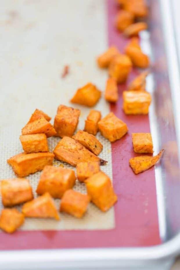 Sweet Potato, Lentil and Black Bean Burrito Recipe