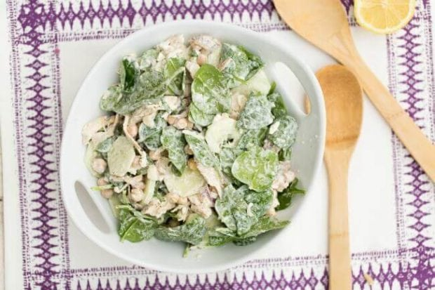 Spinach Chicken Salad Recipe