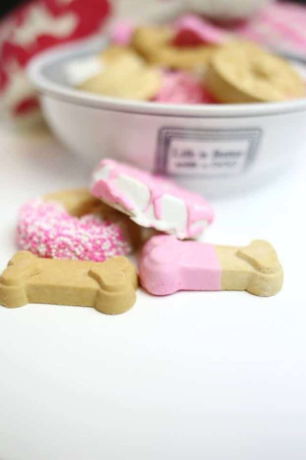 Valentine's Day Themed Dog Biscuit Recipe