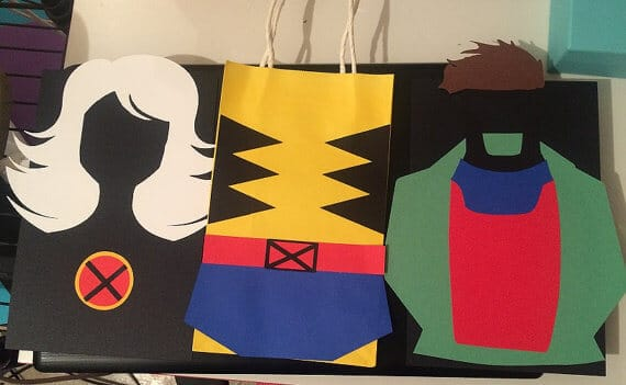 X-Men party Favor Bags