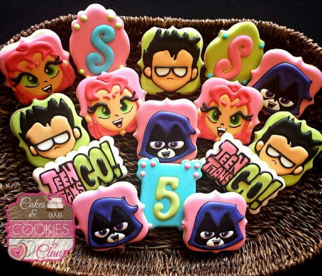 Teen Titans Go Cookies