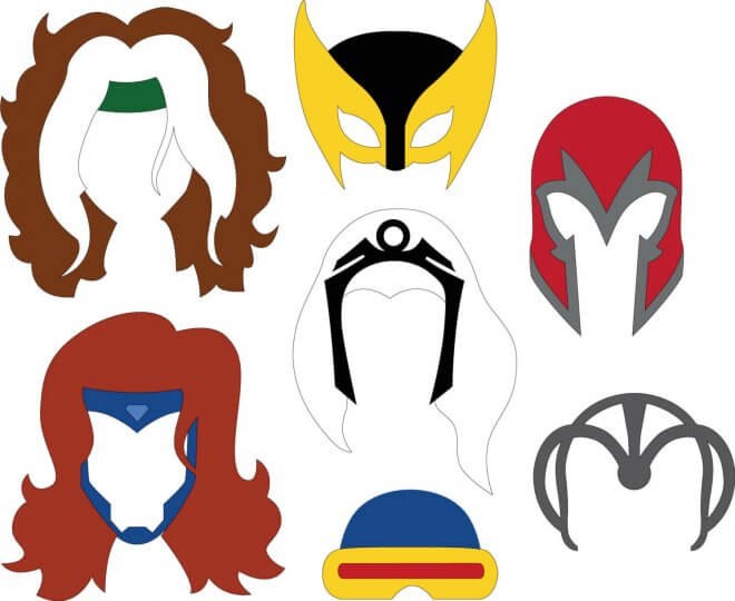 These XMen Masks will get party guests into character