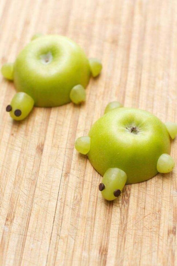 Apple Turtle Fruit Snack