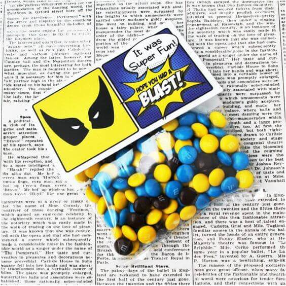 X-Men Party Favor Idea and Tags