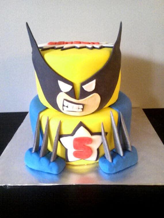 X-Men Cake