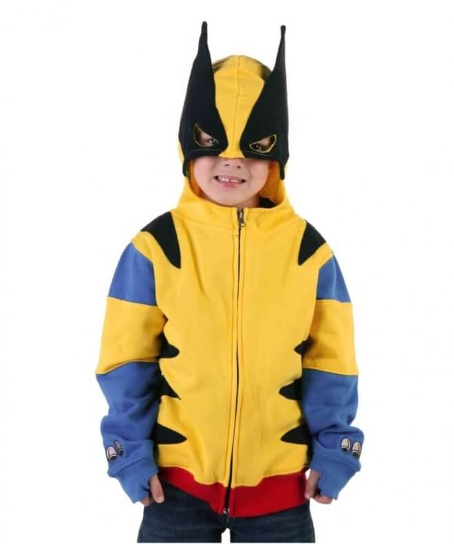 This Wolverine shirt is the perfect outfit for a birthday boy at an X-men birthday party.