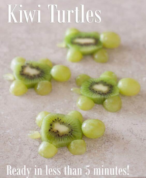 Kiwi Fruit Turtles