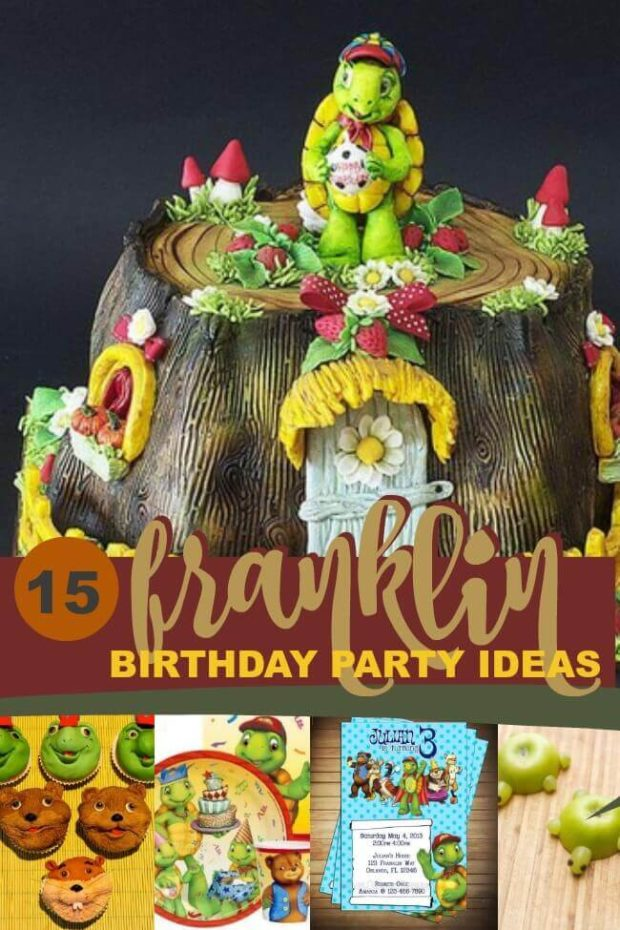 Franklin the Turtle Birthday Party Ideas