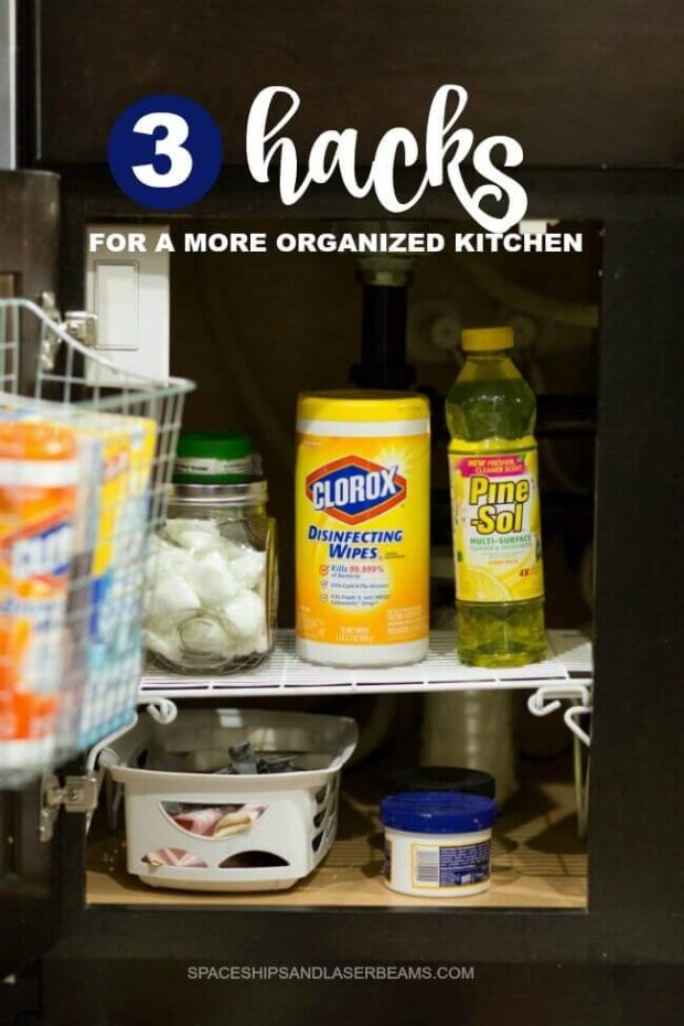 3 Hacks for a More Organized Kitchen