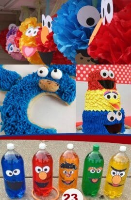23 Sesame Street Birthday Party Ideas and Party Supplies