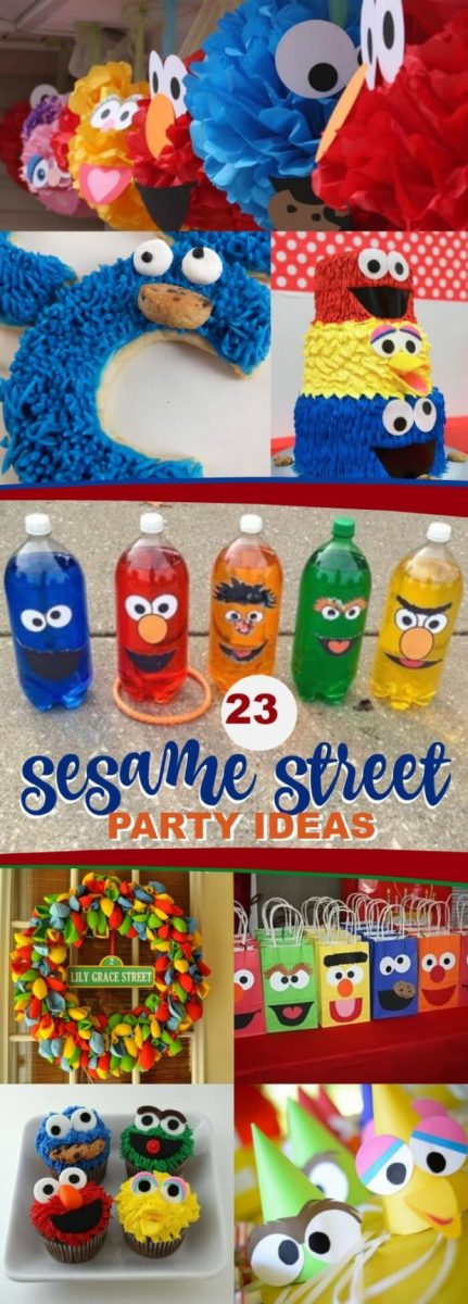 23 Sesame Street Birthday Party Ideas And Supplies