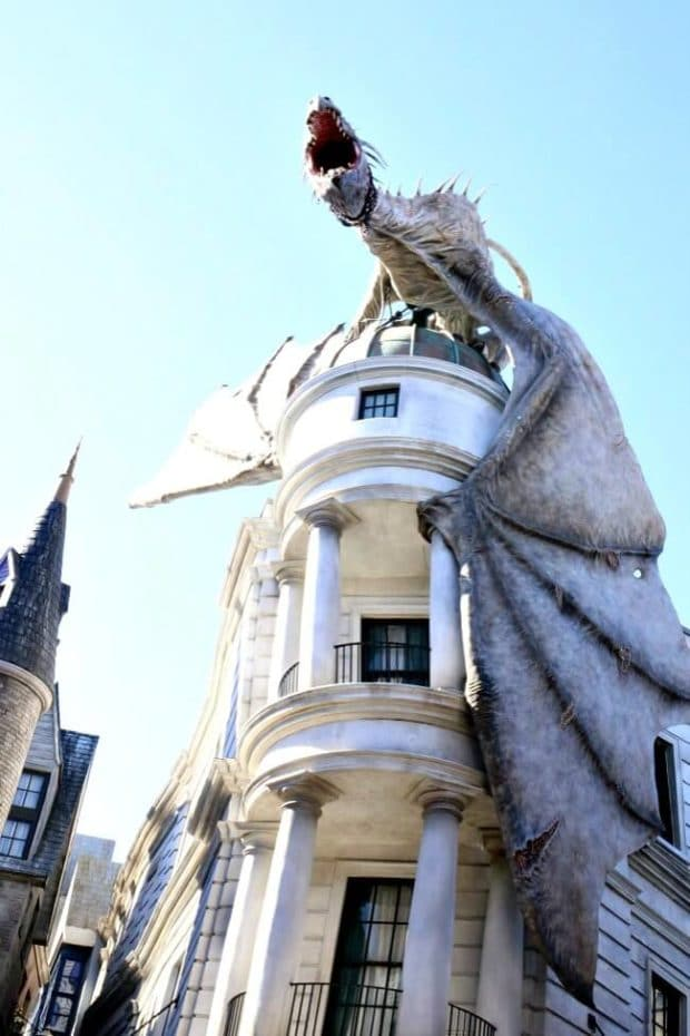 Escape from Gingotts Ride on the Wizarding World of Harry Potter at Universal Orlando