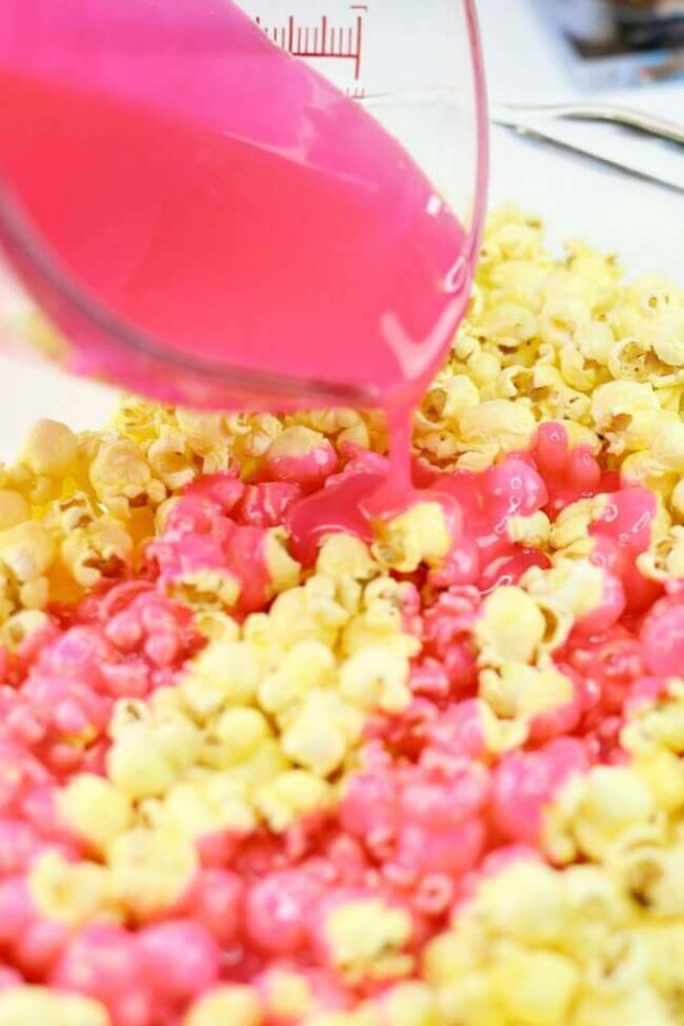 how to make sweet popcorn in popcorn machine