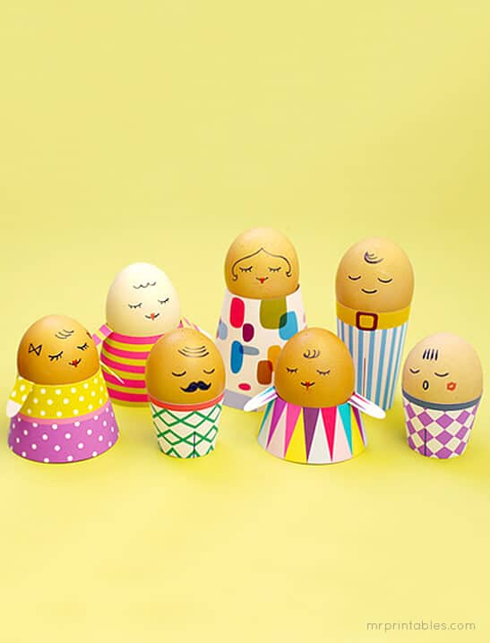 DIY People Easter Eggs