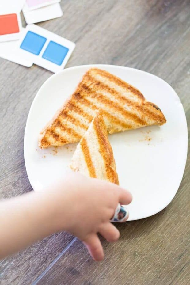 Easy Grilled Cheese Recipe Idea