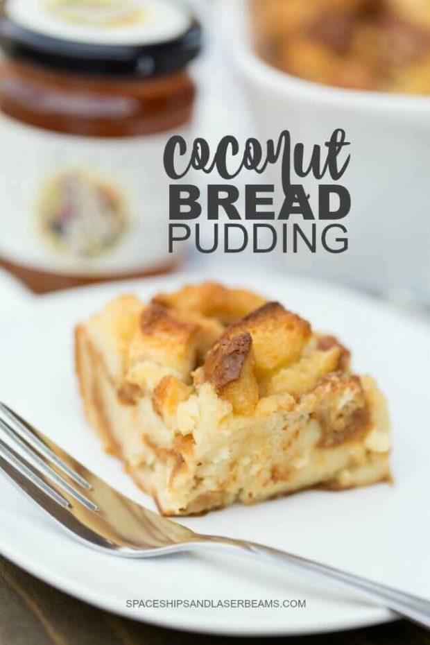 Coconut Bread Pudding