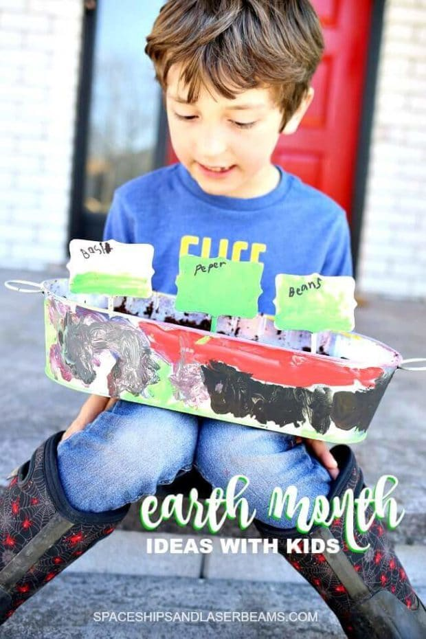 Earth Month Ideas with Kids