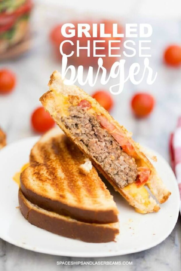 Grilled Cheese Burger Recipe