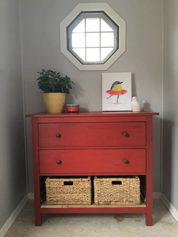 Mudroom Makeover DIY Project