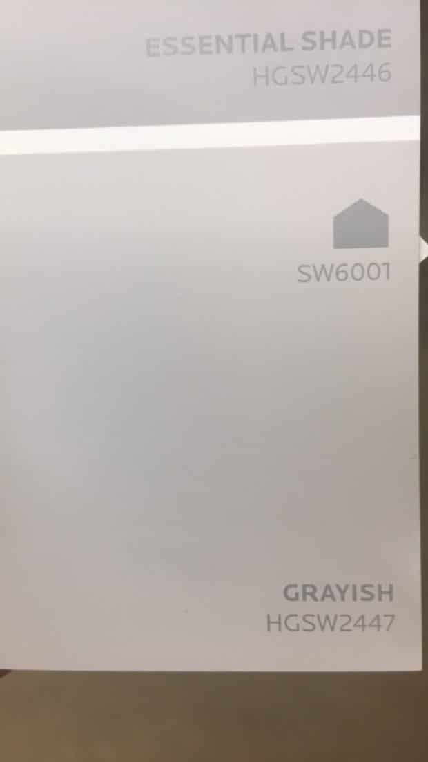 Sherwin Williams Grayish Paint