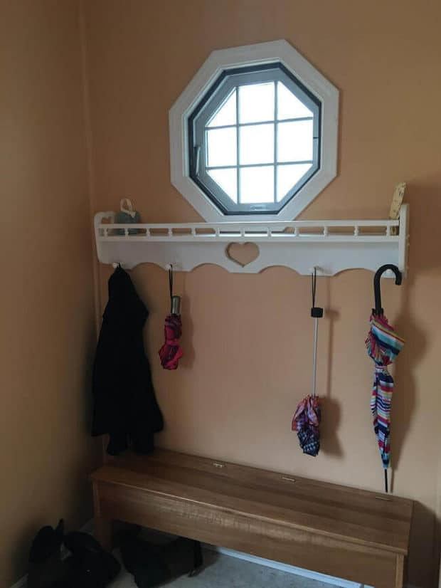 Weekend DIY Project Mudroom Makeover