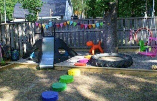 13 Backyards Designed For Entertaining Kids