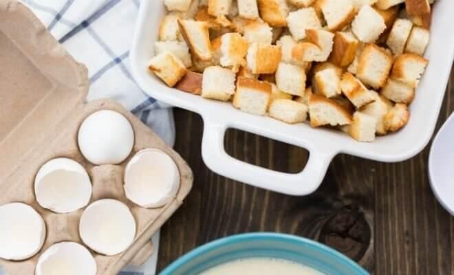 Coconut Bread Pudding Recipe