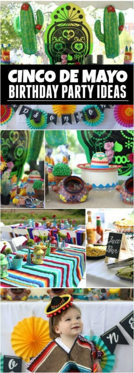 Cinco de Mayo Birthday Party Ideas