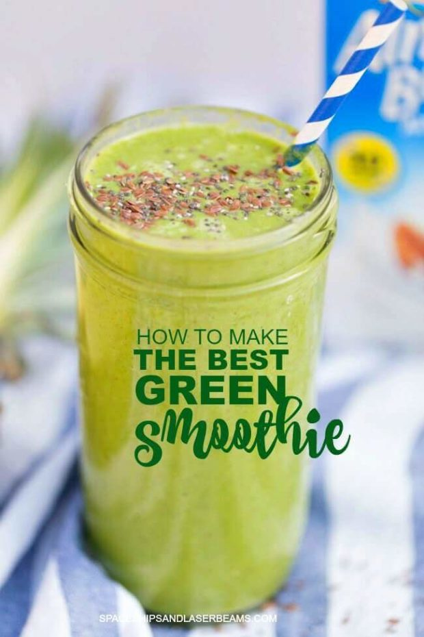 The Best Power Green Smoothie Recipe