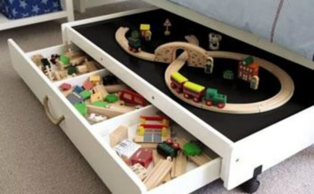 10 Clever Kids Toy Storage Ideas Spaceships And Laser Beams