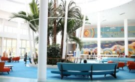 Lobby at Cabana Bay Beach Resort Universal Studios Florida