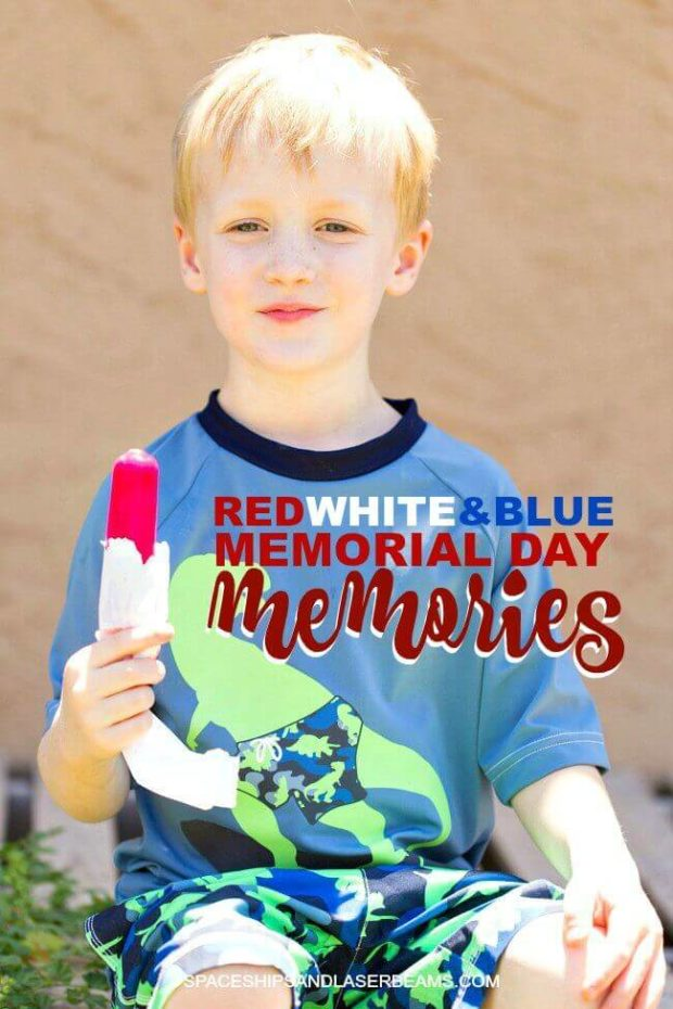 Red, White and Blue Memorial Day Memories