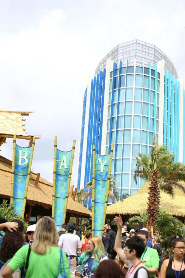 New Cabana Bay Towers Overlooking Volcano Bay