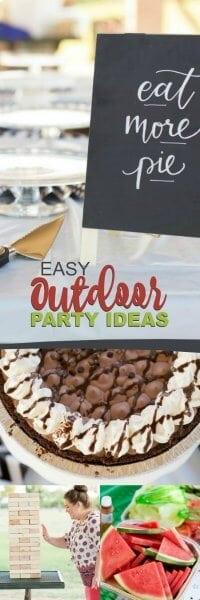 Easy Outdoor Party Ideas