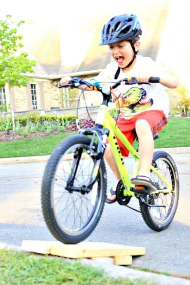 Sam Biking