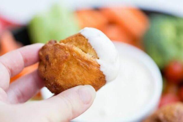Buffalo Chicken with Bleu Cheese Dip