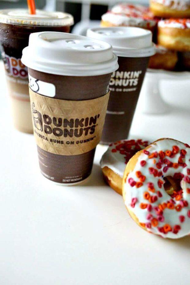Dunkin' Donuts Coconut Cream Latte