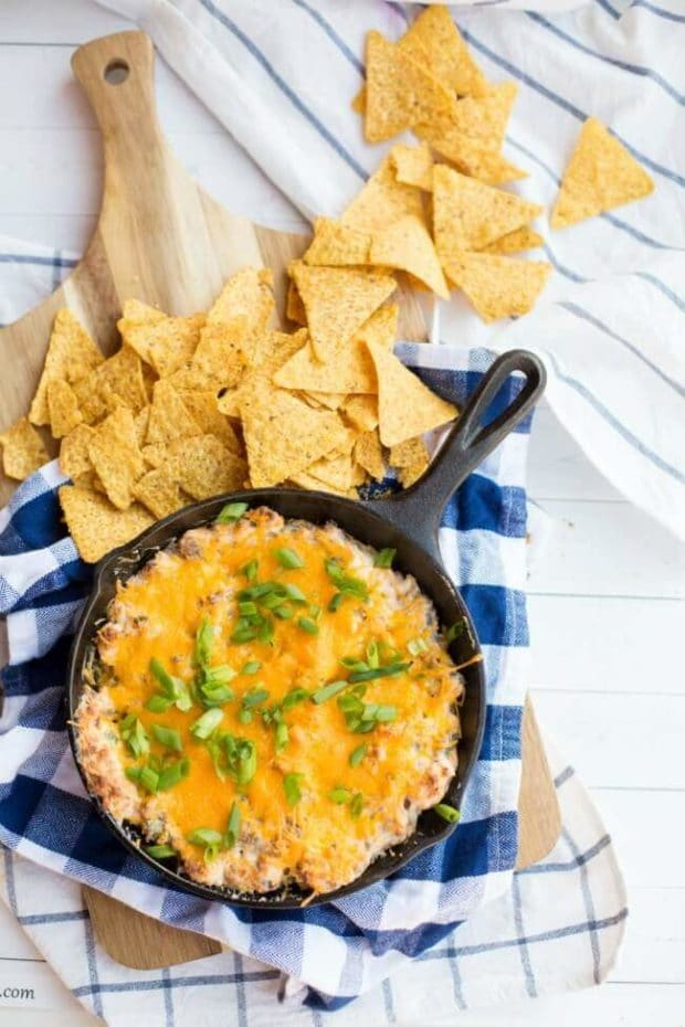 Easy Hot Cheese Dip Recipe