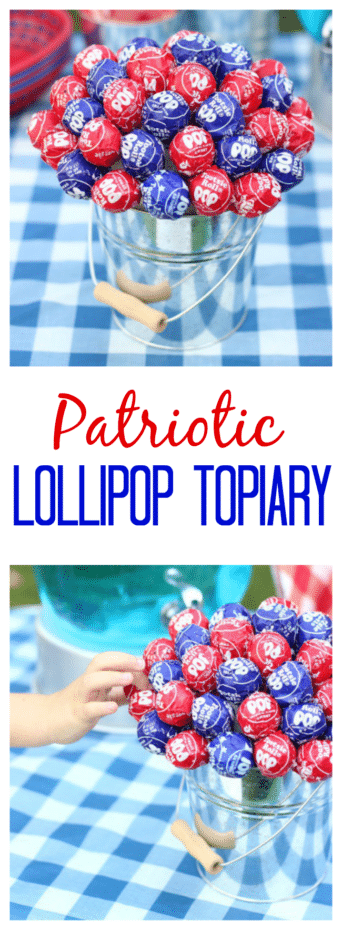 Fourth of July Lollipop Bouquet