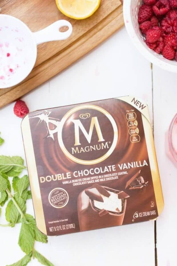 Magnum Double Chocolate Vanilla Ice Cream